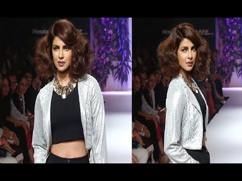 Priyanka Chopra's stunning ramp walk at Lakme Fashion Week 2014.