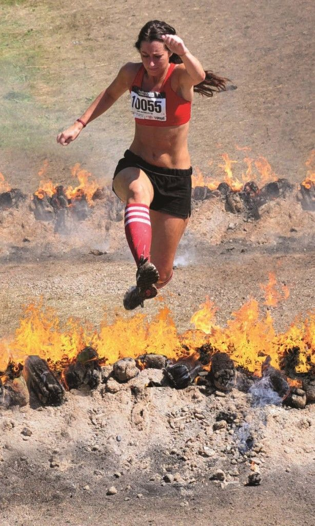 Warrior Dash Training just a couple months to get ready for my first and last 5k