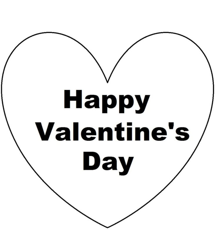 12 besten Happy Valentine\'s Day coloring pages Bilder auf Pinterest ...