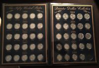 US Commemorative Gallery Fifty United States Quarter Dollar Collection Book|4131