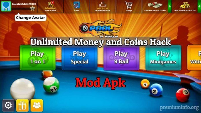 8 ball pool free coins and cash hack