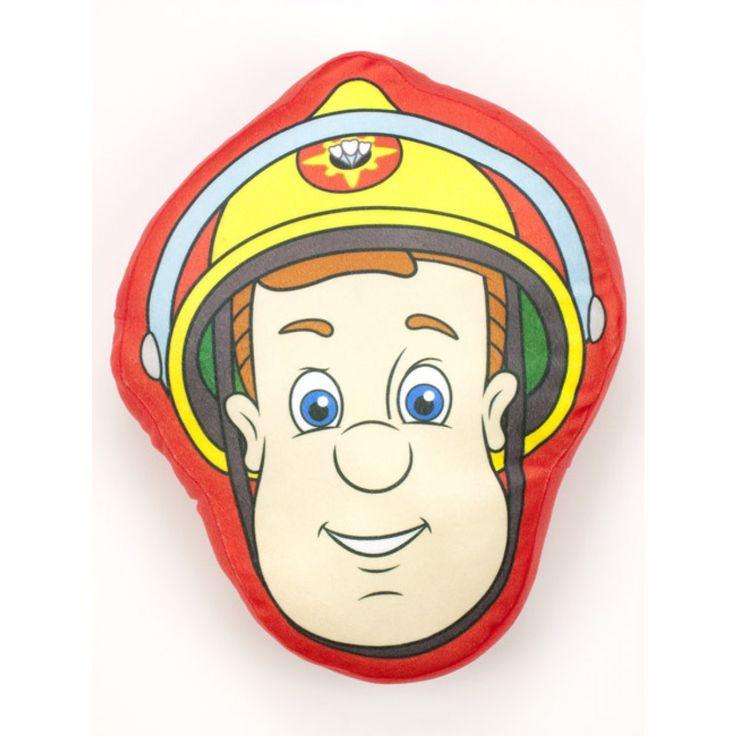 Fireman Sam Shaped Plush Cushion