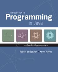 Introduction to Programming in Java - loads of examples on the website if you want to learn Java