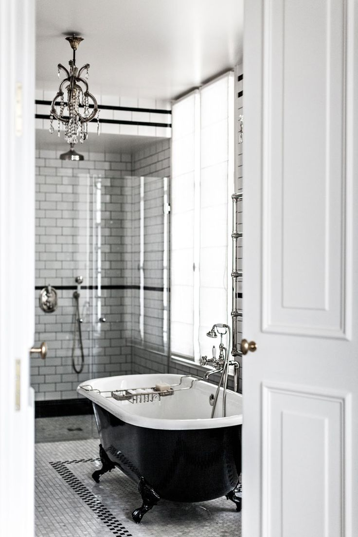 One Of The Gorgeous Bathrooms At The Hotel Providence In Paris On Design*Sponge