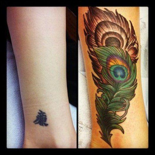 Best 25 Black Tattoo Cover Up Ideas On Pinterest