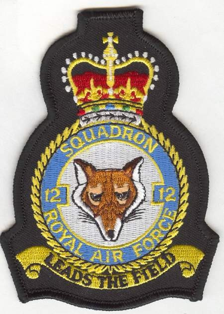 RAF 12 Sqn Crest