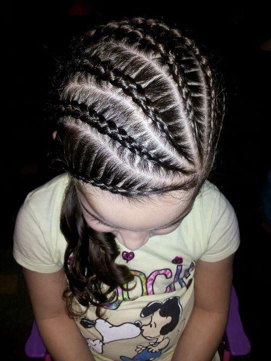 Princess Cornrows Little Girl Hairstyles Pinterest