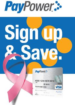 PayPower VISA: Raise Breast Cancer Awareness + Giveaway - Bullock's Buzz