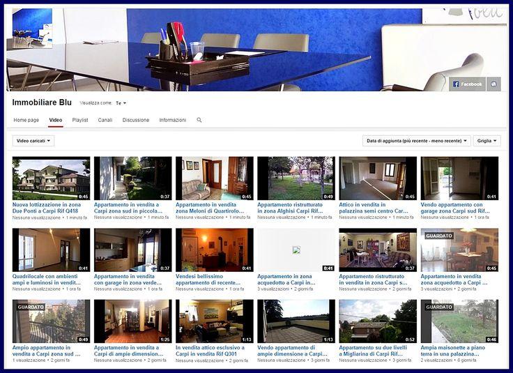 Signore e signori ecco il nostro canale YouTube! Stiamo caricando tantissime video presentazioni di alcuni nostri immobili in vendita o in affitto ma non solo... presto alcune news! https://www.youtube.com/channel/UCR8FCLCmTIm0EaSY4hRi6fg iscrivetevi per rimanere aggiornati in tempo reale. Stay tuned! #immobiliareblu #casa #carpi