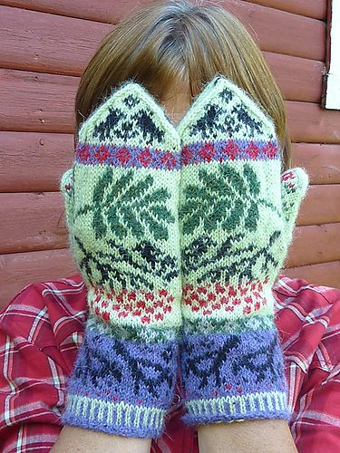 383 best Mittens images on Pinterest   Knit patterns, Knitting ...