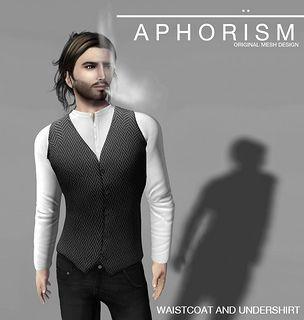 !APHORISM! Waistcoat & Undershirt - coming soon.. | Flickr - Photo Sharing!