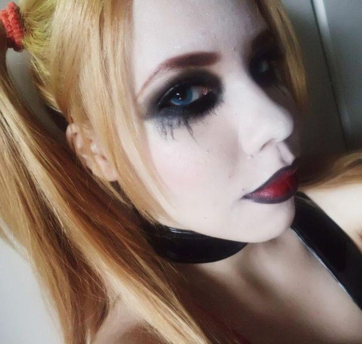 Harley Quinn Makeup test by Amaterasumikami.deviantart.com on @deviantART