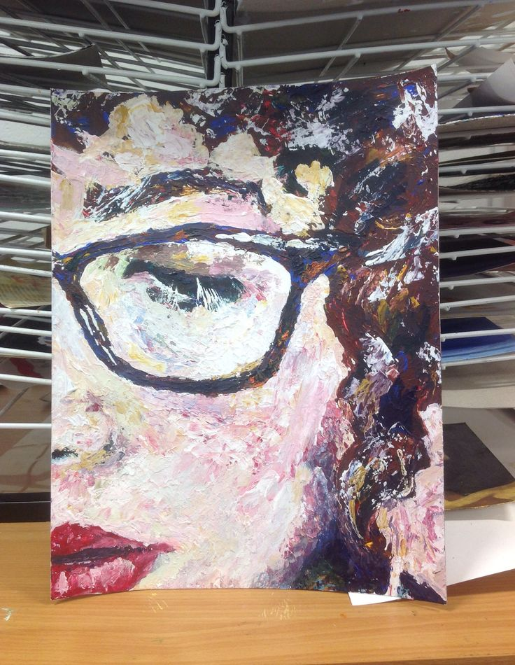 The 288 best images about cnc student work on pinterest for Palette knife painting acrylic