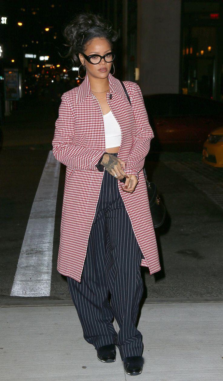 """rihannainfinity: """" January 2, 2016: Rihanna heads to Nobu restaurant in New York City """""""