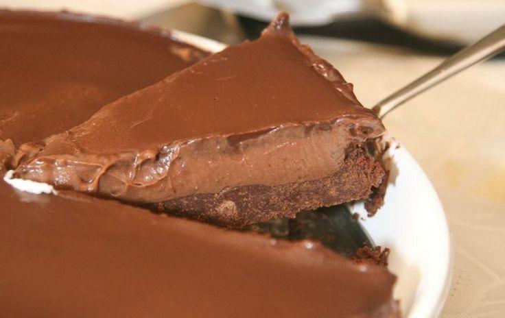 Cheesecake πραλίνας χωρίς ψήσιμο!