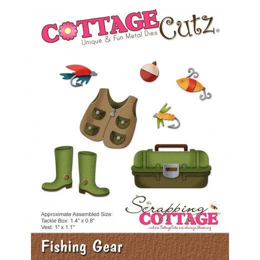 CC-256 Cottage Cutz die, Fishing Gear Fiskegrej-35