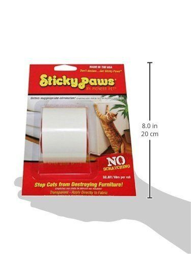 Sticky Paws ROLL Scratch Control Strips Cat Training Aid Anti Deterrent 32.8ft -- Be sure to check out this helpful article.