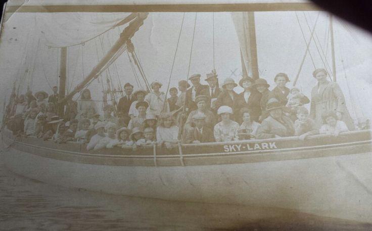 1920's photo of ship sky lark