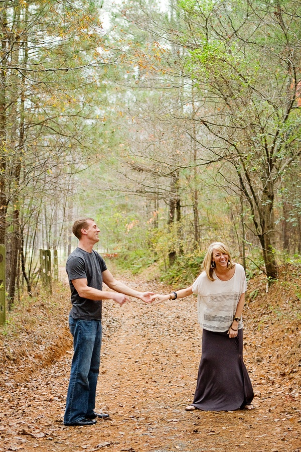 Country Road Engagement Picture