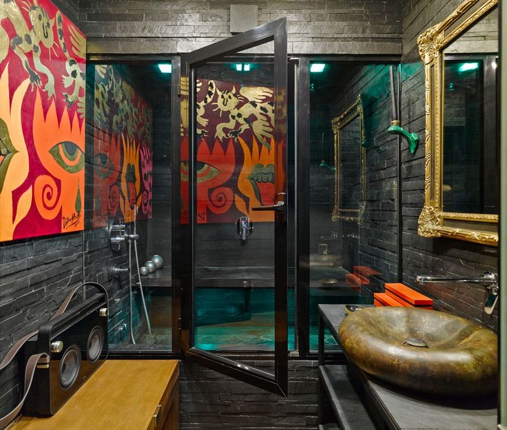 Eclectic Sauna Design