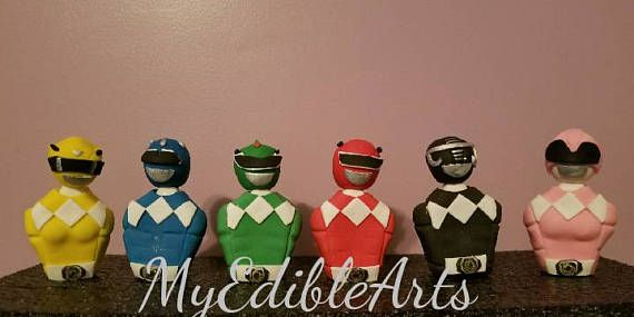 Check out this item in my Etsy shop https://www.etsy.com/listing/518888050/power-ranger-cake-toppers