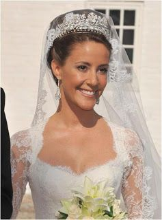 Princess Marie of Denmark -  Diamond Floral Tiara