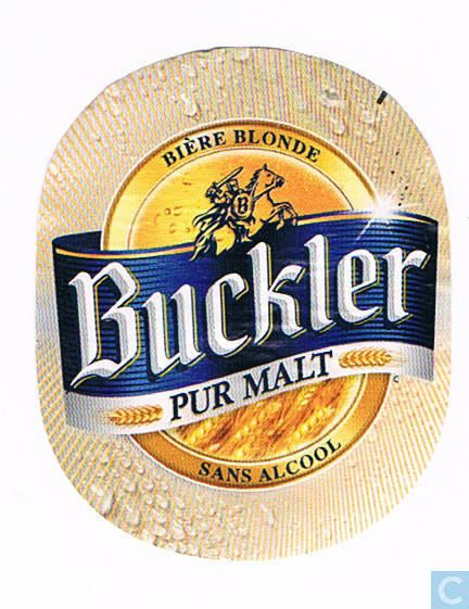 Beer labels - Heineken France Mutzig - Buckler Pur Malt
