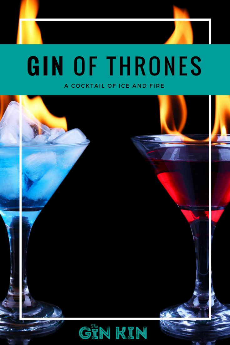 In honour of Game of Thrones season 7 (we're OBSESSED) we've created two cocktails inspired by our favourite monarchs (and let's be honest, the two sides of the song of ice and fire) Daenerys Targaryan and Jon Snow.