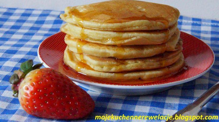 Moje                                                                       Kuchenne Rewelacje  : Pancakes - czyli amerykańskie naleśniki