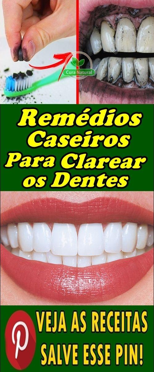 Os 9 Remedios Caseiros Para Clarear Os Dentes Naturalmente