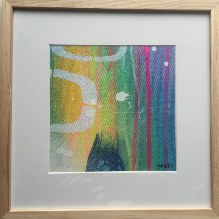Akryl  15x15 cm