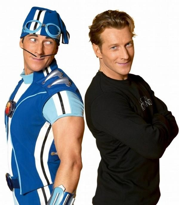 Sportacus: Inspiration to kids, giving them motivation to exercise and eat healthy. Magnus Scheving: The hero behind Sportacus and Lazytown. He's actually working to change the world for the better, fighting against child obesity, and succeeding. I will honestly say that I consider him a hero.