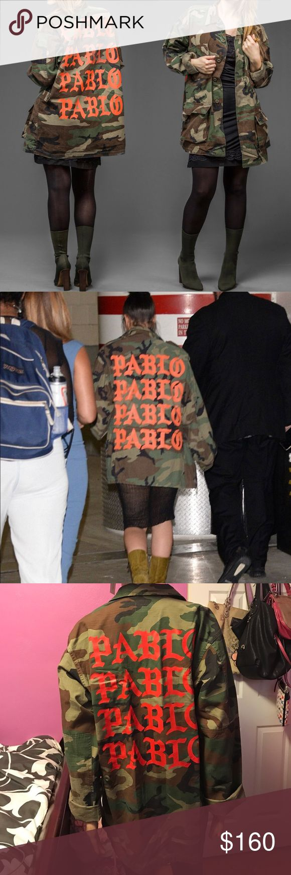 NWOT!The Life of PABLO Army Fatigue Utility Jacket New! Price reflects authenticity. Please no Trades! Yeezy Jackets & Coats Utility Jackets
