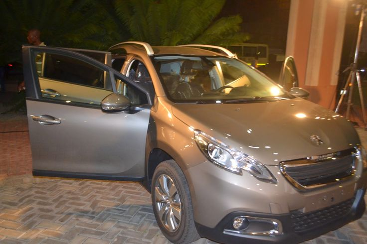 Glamour Magazine GH: Photos: Peugeot relaunched in Ghana #thelionisback...