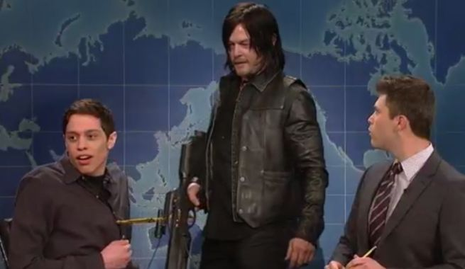 a dream come true for norman - he's on SNL tonight!!