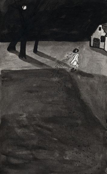 Astrid Chesney – Illustrator » La Nuit