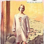 Одежда ручной работы. Ярмарка Мастеров - ручная работа Платье Рубашка в русском стиле. Handmade.