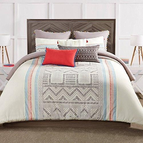 Sale Price : $151.99  Order it Here=> https://diamondhomeusa.com/products/tan-blue-red-off-white-south-west-aztc-theme-comforter-king-set-ikt-zig-zag-triangle-hippie-bedding-southwest-indie-hippy-themed-pattern-cotton-1?utm_campaign=outfy_sm_1509854675_178&utm_medium=socialmedia_post&utm_source=pinterest   Tan Blue Red Off White South West Aztc Theme Comforter King Set Ikt Zig Zag Triangle Hippie Bedding Southwest Indie Hippy Themed Pattern Cotton   Shop Diamond Home today, Bedding, Bath…