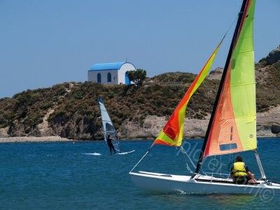 Kos is the perfect place for watersports and especially windsurfing!