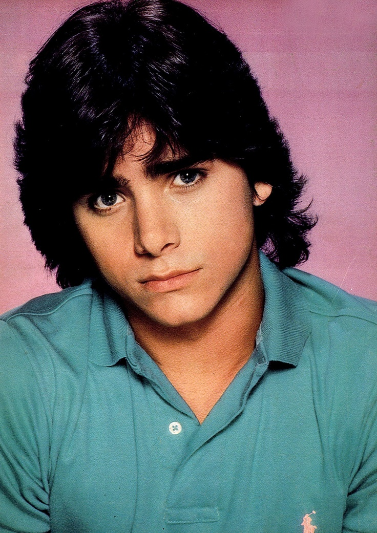 Young John Stamos. Ever since my full house days when I was 5 this is the man I decided I would marry...