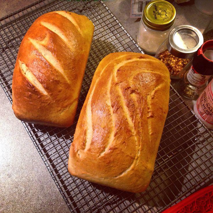 Sourdough bread from scratch.