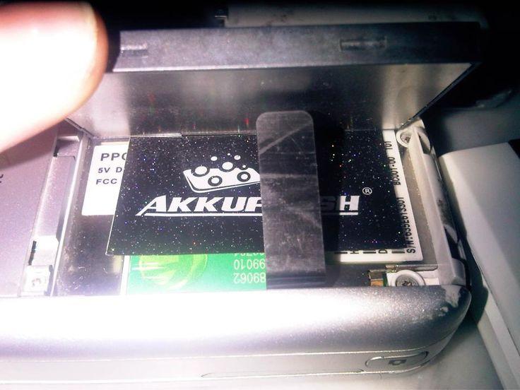 #akkufresh #battery #foil
