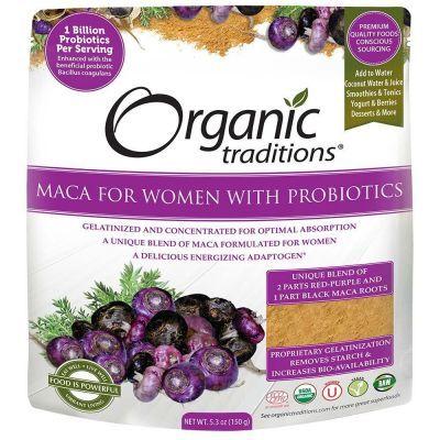 Organic Maca for Women with Probiotics