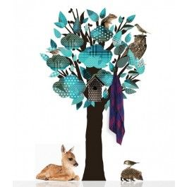 Muursticker bomen | Woonaccessoires Webshop: Presents @ Home