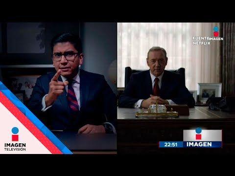 Alcalde de Tlaxcala plagió discurso de House of Cards| Noticias con Ciro Gómez Leyva - YouTube