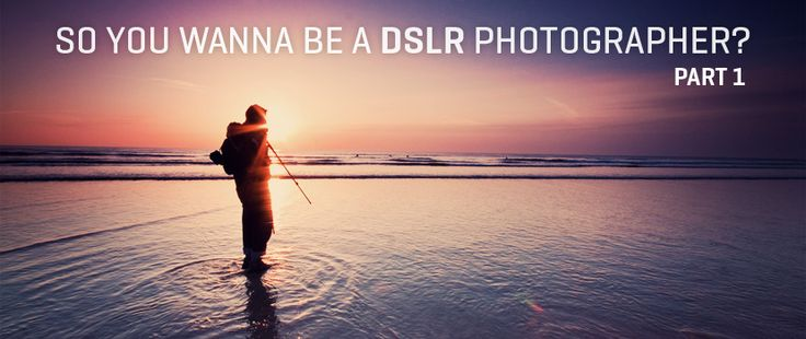 So you want to be a DSLR Photographer? Tutorial