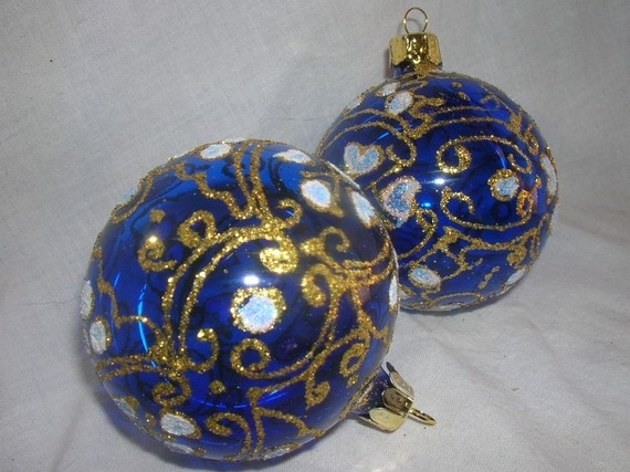 Romanian Glass Christmas Ornaments. Perfect in deep blood red for the tree  in the guest room. | Christmas Crafts | Pinterest | Christmas Ornaments, ... - Romanian Glass Christmas Ornaments. Perfect In Deep Blood Red For