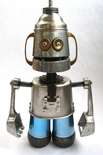 Cubic - Robot Sculpture | Flickr – Condivisione di foto!