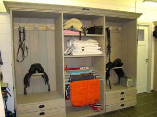 """Pinner said, """"get one of these for each rider in the tack room and storage want be a problem at all"""""""