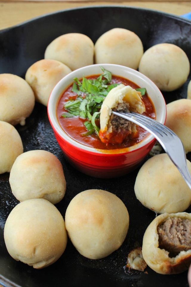 Meatball Poppers